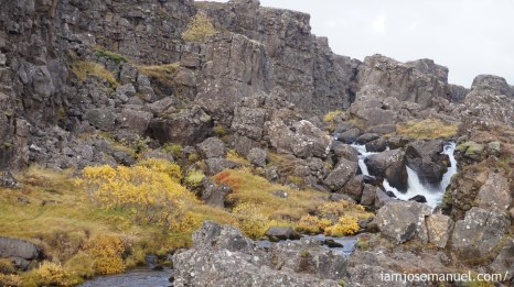 Thingvellir National Park is significate, as it is there the continents of Eurasia and North America Split up, geographically.